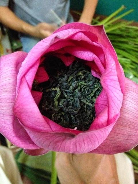 Mẹo ướp trà hoa sen theo phong cách truyền thống