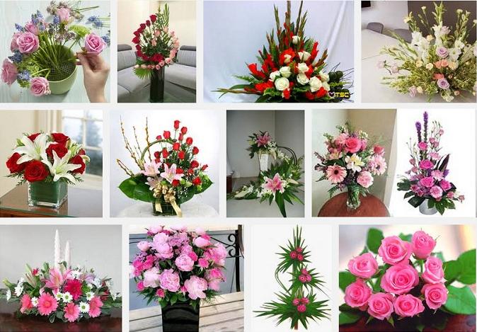 Kinh doanh dịch vụ cắm hoa.
