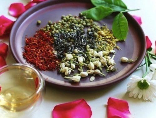 Các loại trà hoa khô bổ ích