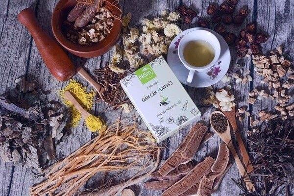 Trà nấm giúp giảm cân, tan mỡ hiệu quả